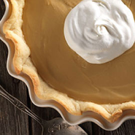 Vermont maple Cream Pie
