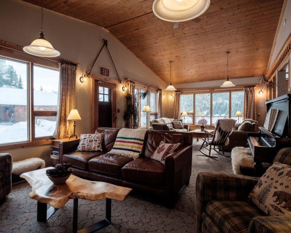 Mt. Engadine Lodge Lobby