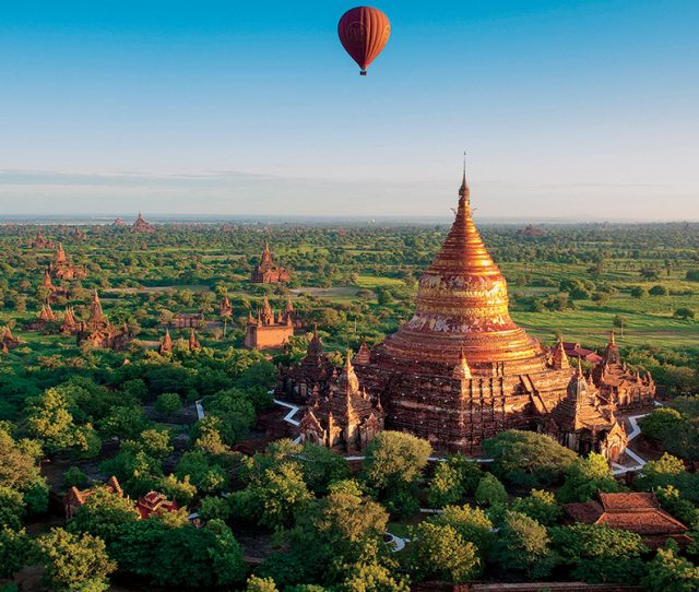 Myanmar Hot Air Balloon Ride