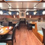 Dining Area on Fryslan Bike and Sail
