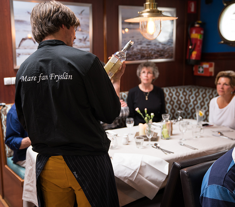 Frysland Dining Onboard