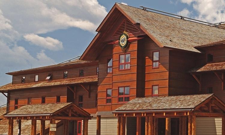 Old Faithful Snow Lodge, VBT Walking Tour