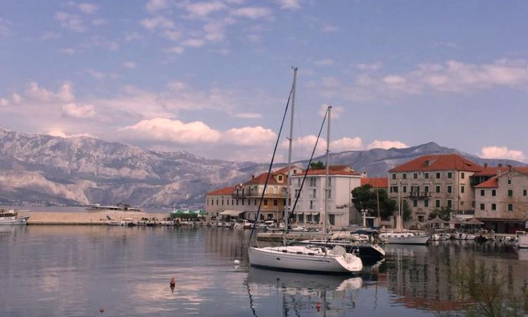 Croatia harbor, vbt bike tours for snowbirds