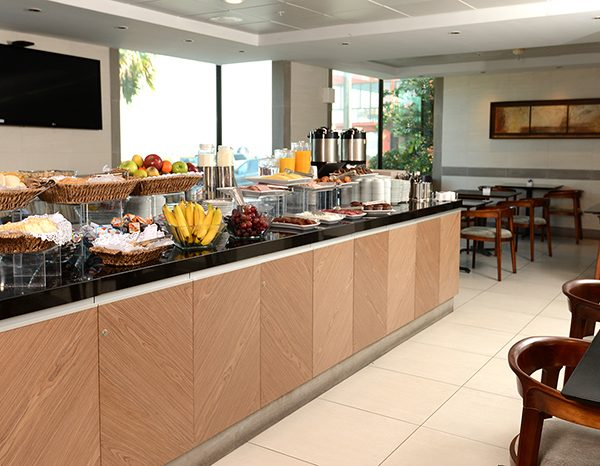 Santiago Airport Hotel Breakfast Buffet