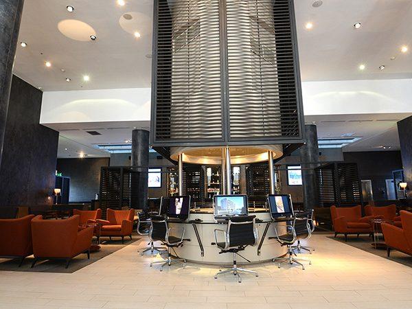 Santiago Airport Hotel Lobby
