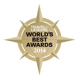 Travel leisure worlds best awards 2014