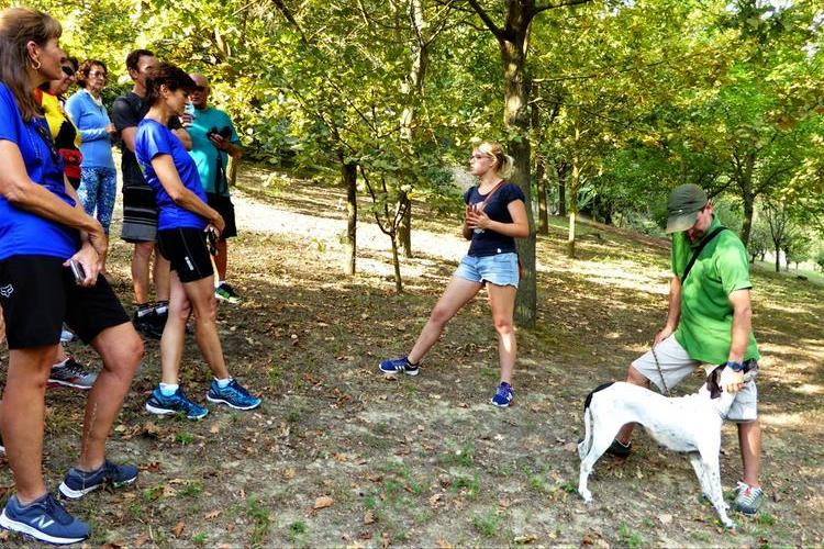 truffle hunting; Piedmont Slow Food bike tour