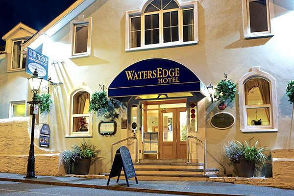 WatersEdge Hotel Exterior
