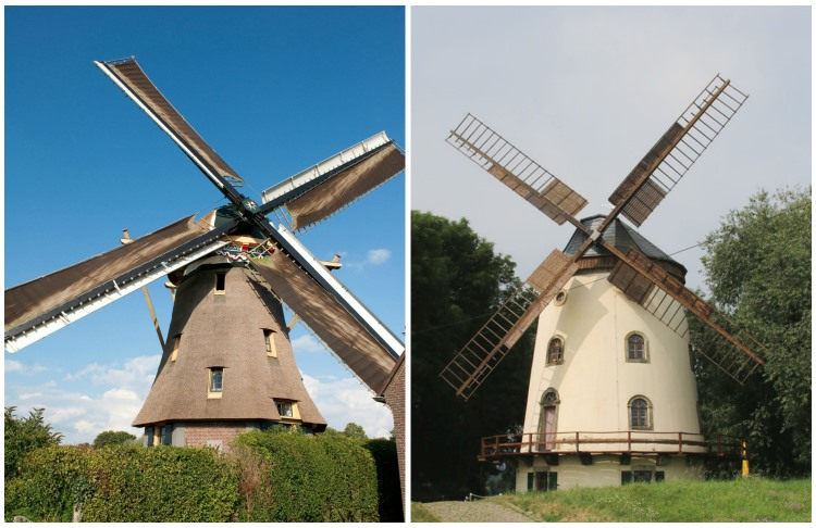 German and Dutch windmills, VBT, blog