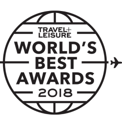 Travel & Leisure's World's Best Award 2018