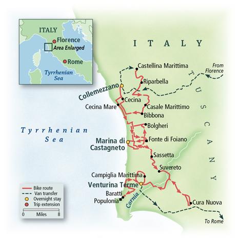 Italy: Coastal Villages of Tuscany 2