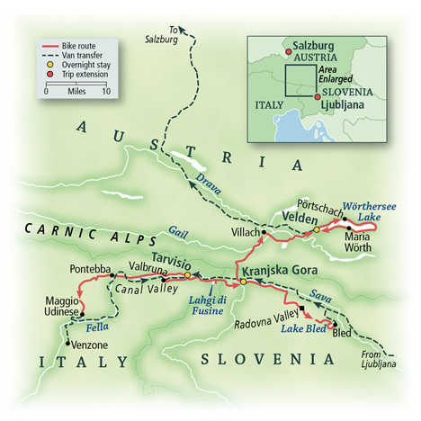 Slovenia, Austria & Italy: Alpine Valleys 1