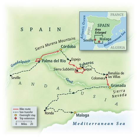 Spain: Andalusia, Córdoba & Granada