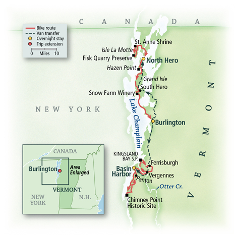 Vermont: Lake Champlain Islands, Burlington & Stowe 2
