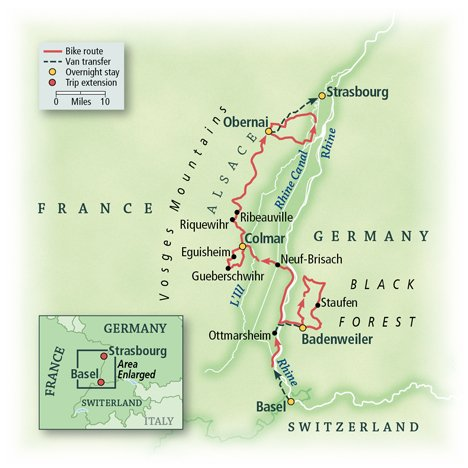 Alsace and the Black Forest: La Route des Vins Land Package 1