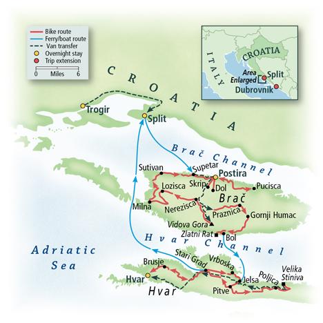 Croatia: The Dalmatian Islands 1