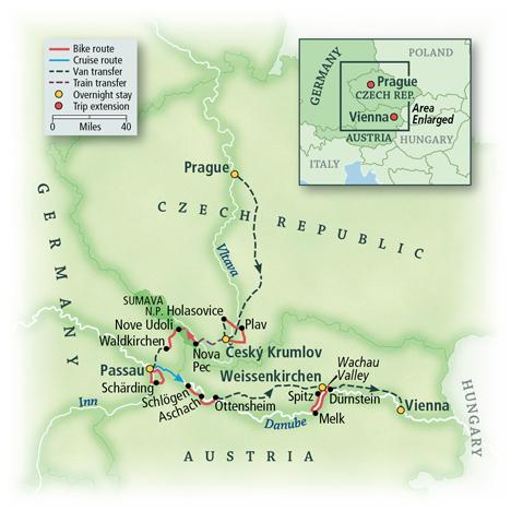 The Czech Republic, Germany & Austria 1