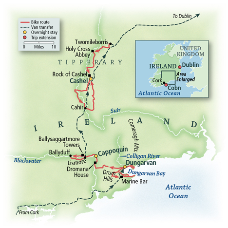 Cycling Ireland's South: Counties Waterford and Tipperary 1
