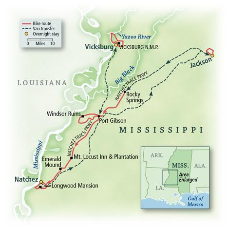 Mississippi: The Natchez Trace 1
