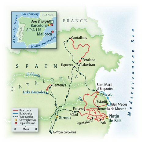 Spain's Costa Brava: Cycling Dali's Landscapes 1