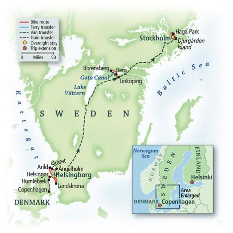 Cycling Scandinavia: Copenhagen to Stockholm 1