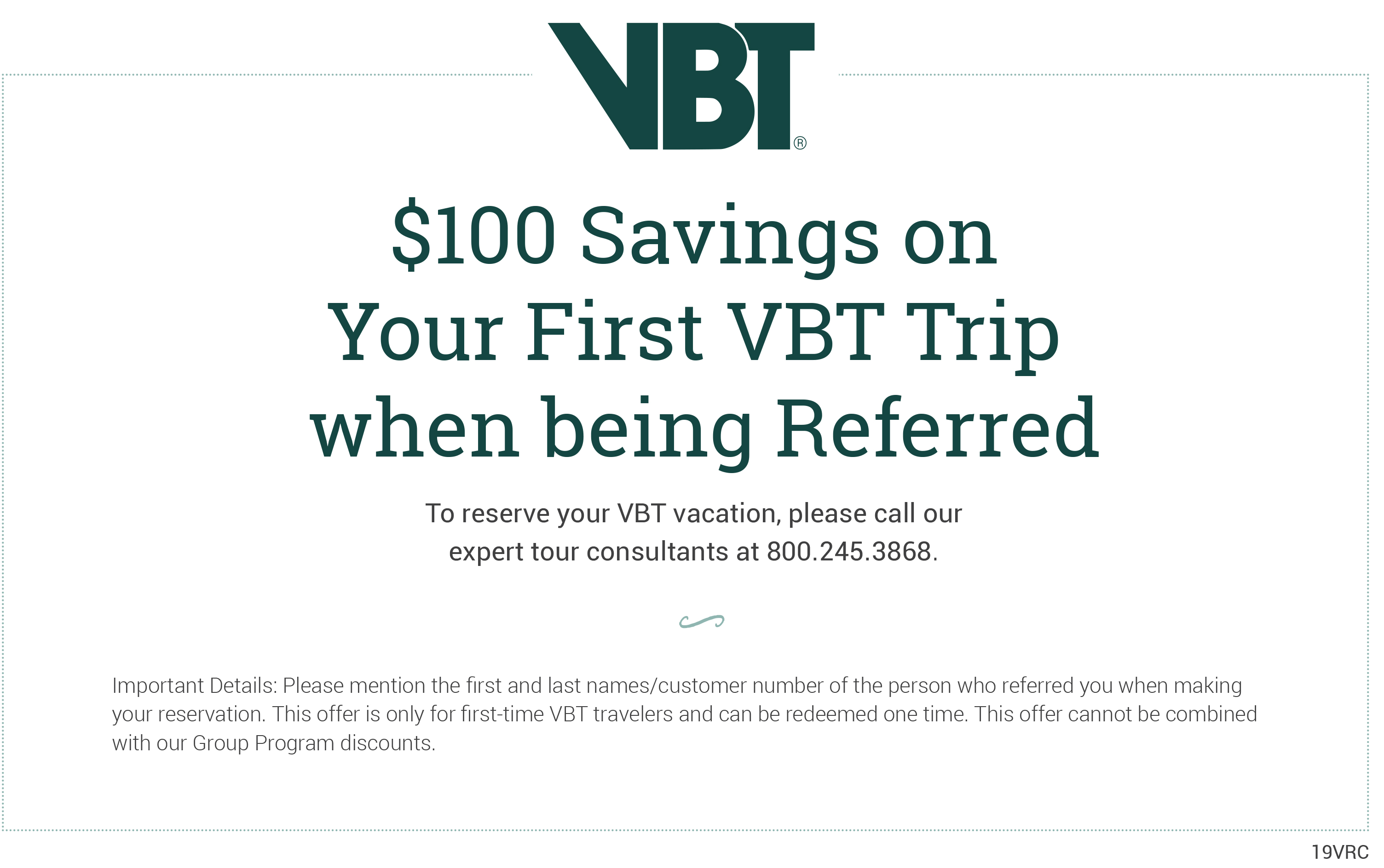Share Travel Thank You | VBT Bicycling Vacations