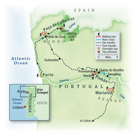Pathways of Portugal: Walking the Douro Valley 5