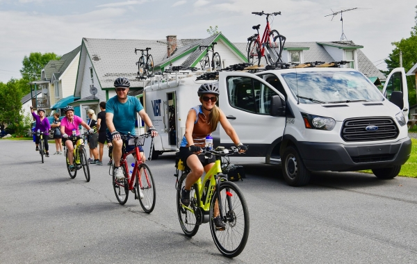 Bicycling Quebec: Best of the Eastern Townships