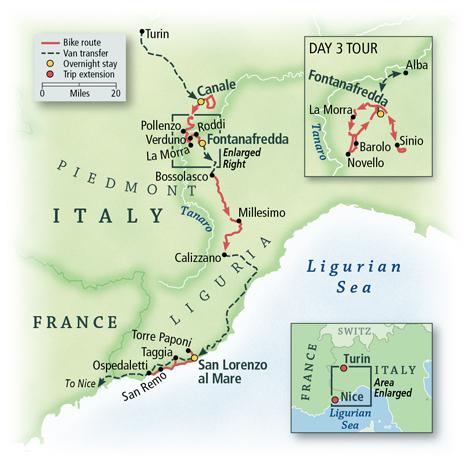 Italy: Piedmont, Langhe & the Italian Riviera 5