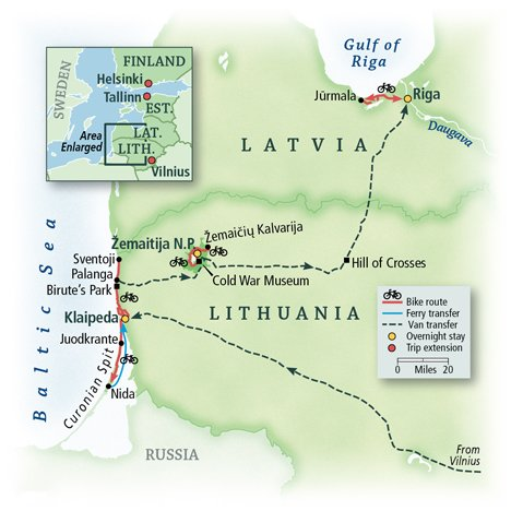 Lithuania & Latvia: the Baltics 1