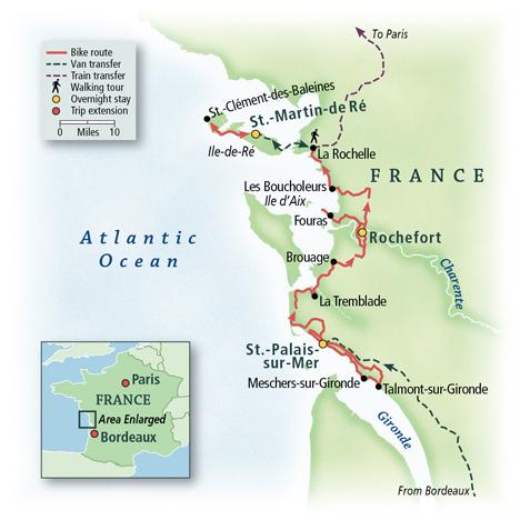 France: Bordeaux to La Rochelle 6