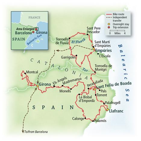 Spain: Barcelona & Costa Brava