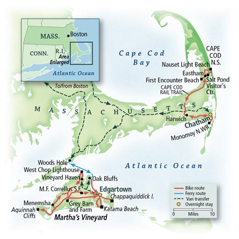 Massachusetts: Cape Cod & Martha's Vineyard