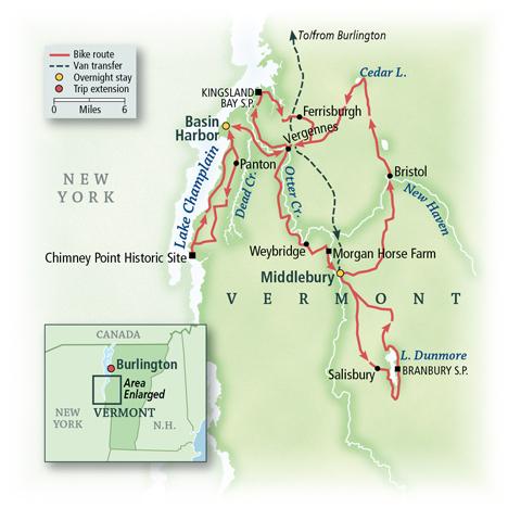 Vermont: Middlebury & Idyllic Countryside