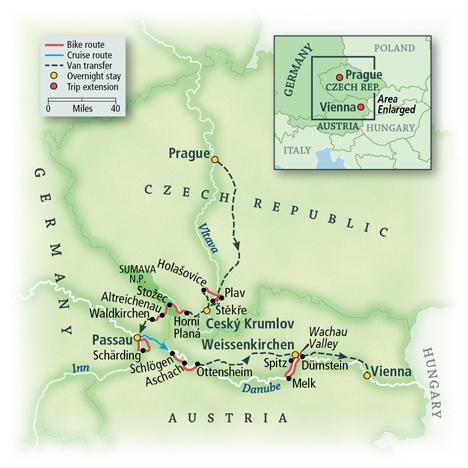 Czech Republic, Germany & Austria: Český Krumlov & Wachau Valley