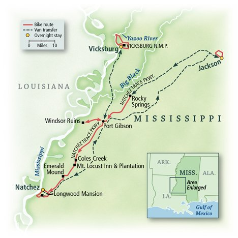 Mississippi: The Natchez Trace 4