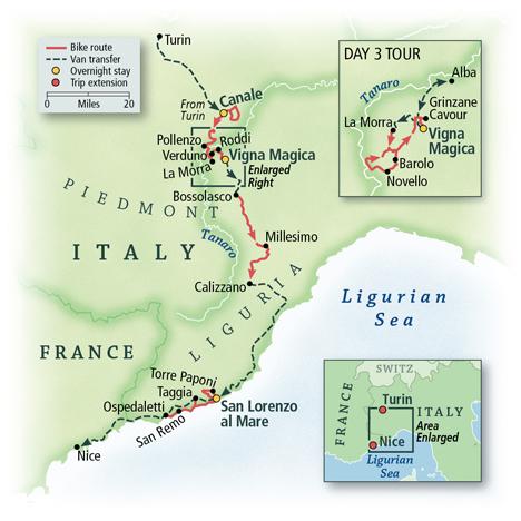 Italy: Piedmont, Langhe & the Italian Riviera 4