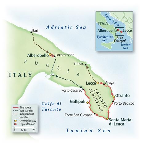 Italy: Puglia, Alberobello & Lecce