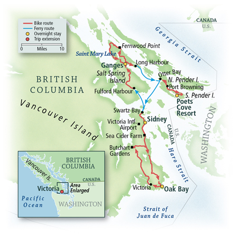 British Columbia: Vancouver Island and the Gulf Islands 6