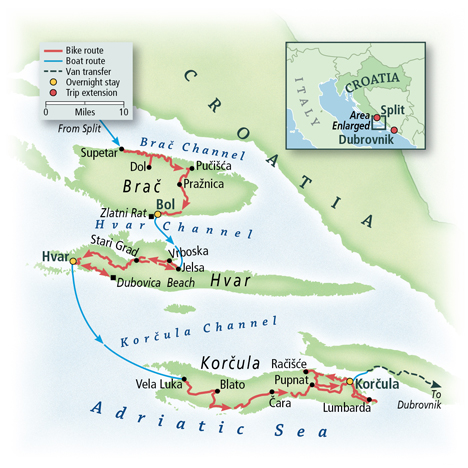 Croatia: Dalmatian Coast, Split to Dubrovnik 9