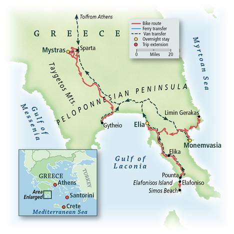 Greece: Sparta, Monemvasia & the Peloponnesian Peninsula 7
