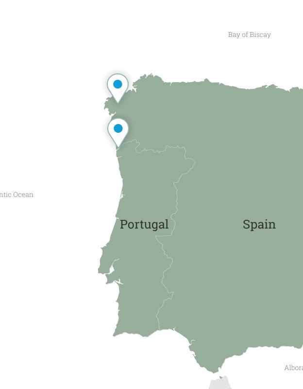 Spain & Portugal: Coastal Camino de Santiago