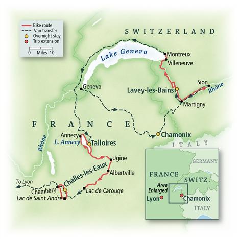 Switzerland & France: Lake Geneva, Annecy & Valleys of the Alps 10