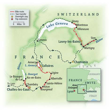 Switzerland & France: Lake Geneva, Annecy & Valleys of the Alps 8