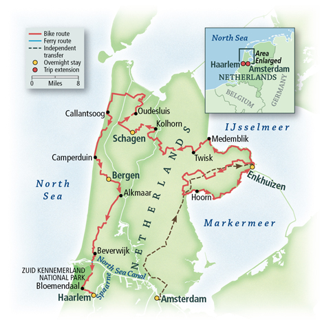 The Netherlands: Holland's Golden Age Towns & the North Sea 6