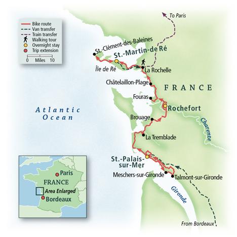 France: Bordeaux to La Rochelle 8