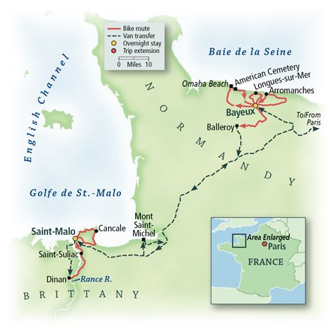 France: Normandy & Brittany