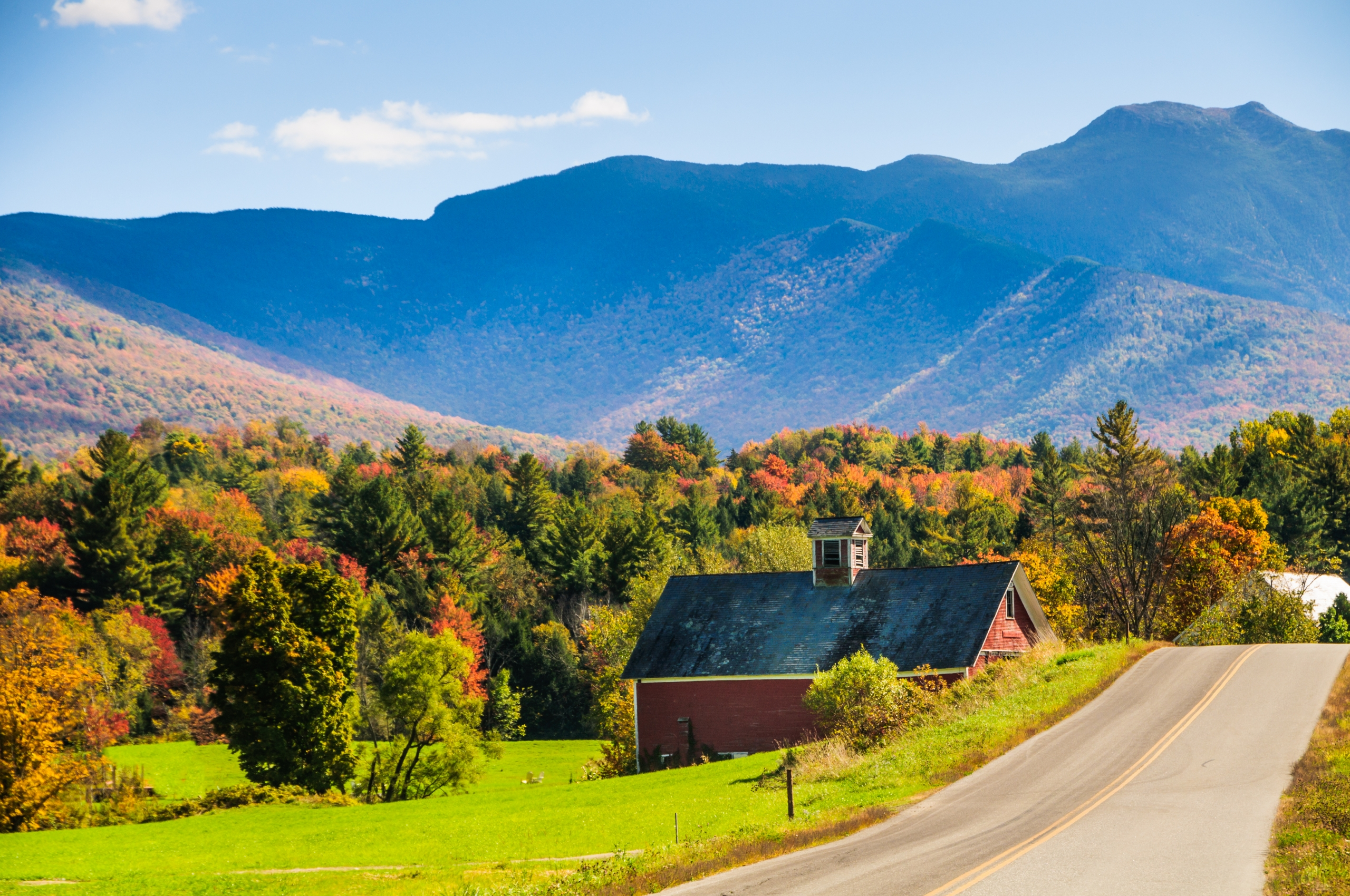 Vermont: MIDDLEBURY COUNTRYSIDE & THE LAKE CHAMPLAIN COAST 2