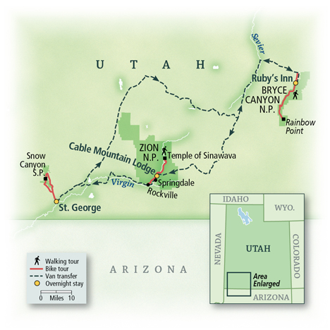 Utah: Bryce Canyon & Zion National Parks 9
