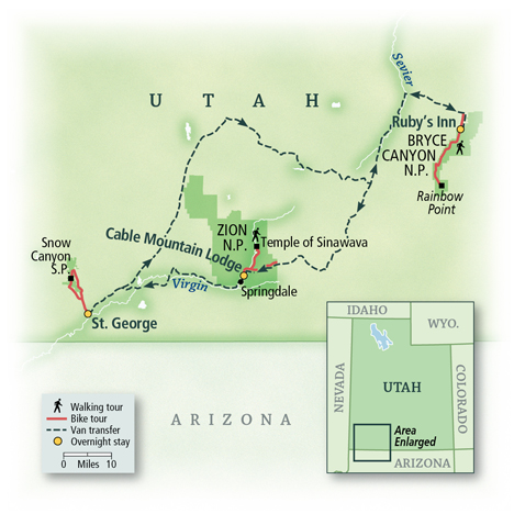 Utah: Bryce Canyon & Zion National Parks 7